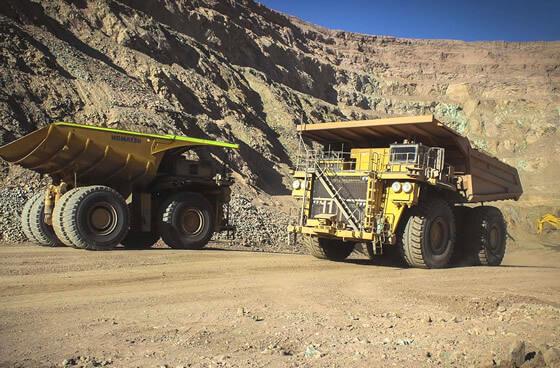 Alquiler de maquinaria Proyecto Minera Cerro Verde